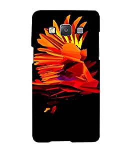 PrintVisa Modern Art Eagle Design 3D Hard Polycarbonate Designer Back Case Cover for Samsung Galaxy A7