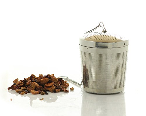Easytea Loose Leaf Tea Strainer : Tea Infuser : Tea Steeper : Tea Basket In Stainless Steel