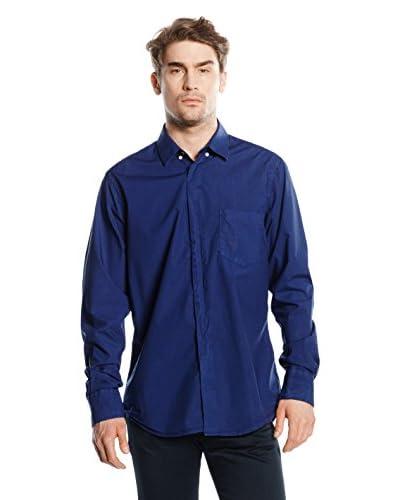 DonDup Camisa Hombre Azul