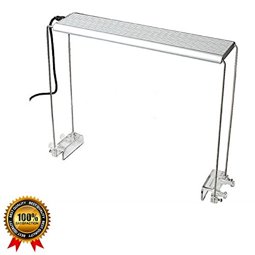 Aquarium Light Stand For Aquatic LED Light Lamp Accessory Glass Reptile Cage Heater Tank Fish Tank Holder Bracket Support Stainless Steel Aquatic Lighting Stand & eBook by Easy2Find (Reptile Heat Lamp Mount compare prices)