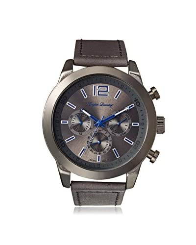 English Laundry Men's EL7594GY236-328 Grey Alloy/Stainless Steel Watch