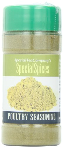 Special Tea Company Poultry Seasoning Gourmet Blend 2.7-Ounce, 76 grams, Unbelievable Taste