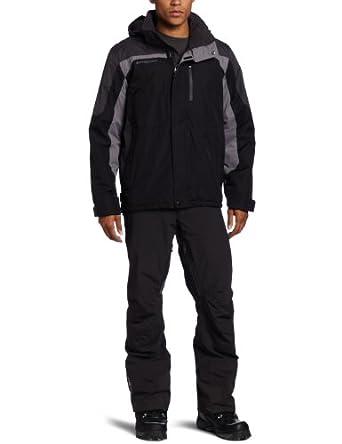 (22折)美国户外ZeroXposur Men's Breaker Jacket高端保暖冲锋衣银仅$26.15