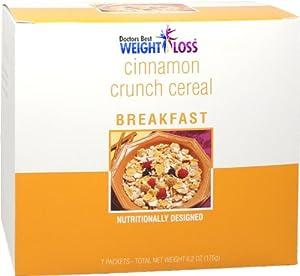 CarbEssentials Breakfast Cereals- Cinnamon Crisp (7/box)