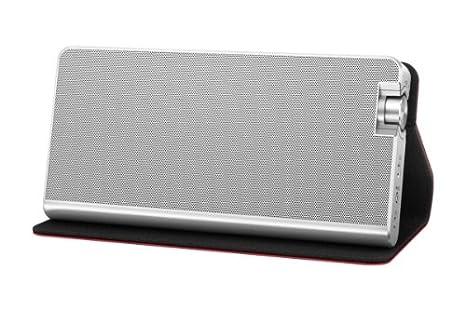 Panasonic SC-NA10EG-R Enceinte pour MP3 & Ipod Noir, Rouge, Argent