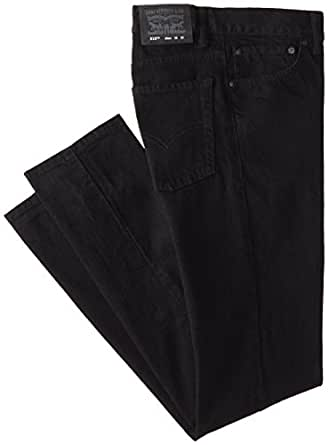 Levi's Big Boys' 510 Skinny Fit Jean , BLACK STRETCH, 8 Regular