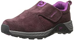 Merrell Jungle Moc Sport ALT Closure Outdoor Shoe (Toddler),Berry/Grey,7 M US Toddler