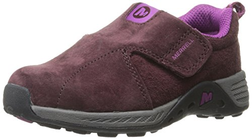 Merrell Jungle Moc Sport ALT Closure Outdoor Shoe (Toddler), Berry/Grey, 8.5 W US Toddler