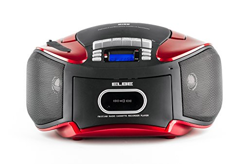 CDM-265-USB Kassetten-Radio mit CD, MP3, USB und SD