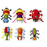 Gift Expressions 6 Design Insect DIY Kids Art Colorloon Form Cray Paint Colors On The Balloon Kids Craft Party Pre-School Coloring Activity (Insect, 1 Set) (Color: Insect, Tamaño: 1 Set)