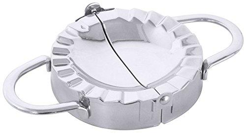 Pour empanadas en acier inoxydable 18/10, Poli, permet de former des mixte poches et Raviolis/Ø Dia. 10cm | erk