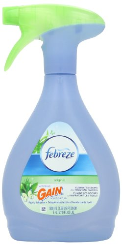 Febreze Fabric Refresher with Gain Original Scent, 27-Ounce (Pack of 2)