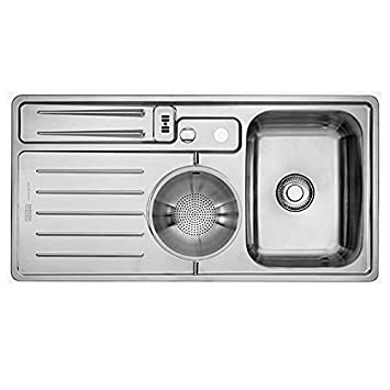 Franke active kitchen AKX 654 A Edelstahl gebürstet - de129