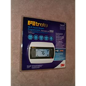 Filtrete Wi-fi Touch Screen Programmable Thermostat