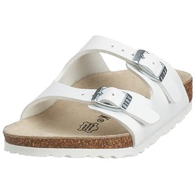Birkenstock Nevada, Unisex-Child Sandals, White, 8 UK Child (26 EU)
