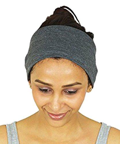 Nimnik Fit Fascia Headbands Per Crossfit Yoga Pilates Palestra, In Cotone Traspirante E Antiscivolo; Fascia Per Donne, Uomini, Bandana Unisex Passamontagna Fermacapelli