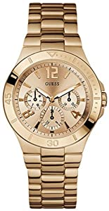 GUESS U13624L1 Active Shine Watch - Rose Gold