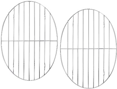 """(2 Pack) Roasting / Cooling Rack Oval 12"""" x 8½"""""""