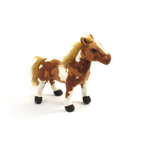 "Wishpets 11"" Standing Horse Painted Plush Toy"