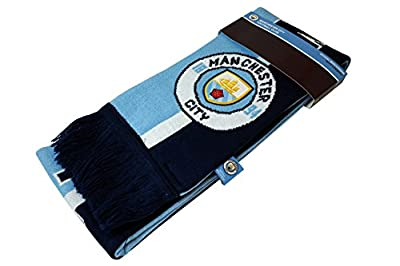 Manchester City F.C. Authentic Official Licensed Product Soccer Scarf