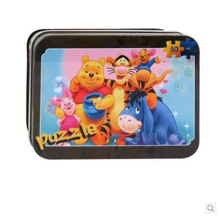 Thinkmax? Cartoon Puzzle Toy Winnie The Pooh And His Friends Model front-944131