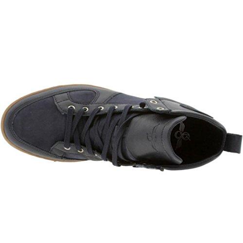 B003N6P512 Creative Recreation Men's Solano High-Top Sneaker,Navy,12 D US