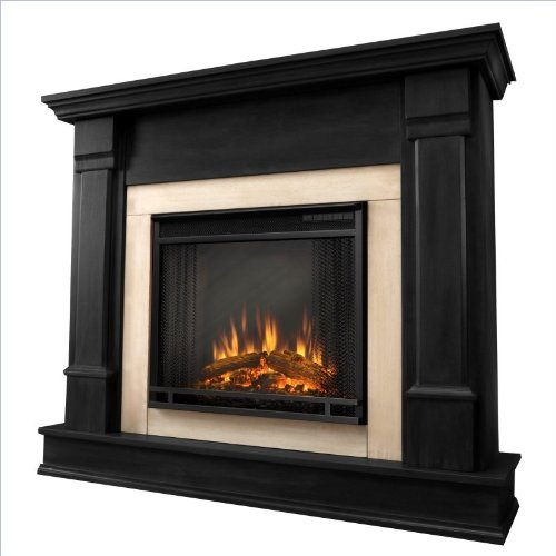 Purchase Real Flame Silverton Indoor Electric Fireplace in Black