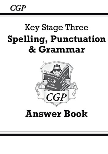 Spelling, Punctuation and Grammar for KS3 - Answers for Workbook (With Online Edition)