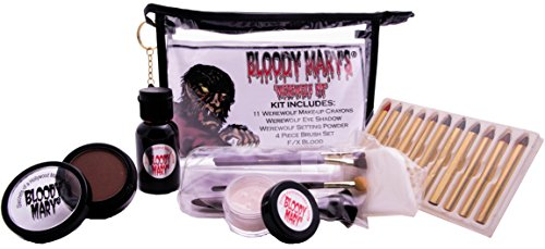 Bloody Mary Twisted Devil Professional Undead Makeup Kit