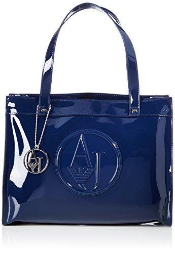 Armani Jeans Shoes & Bags De - 0520Brj, Acquirente da donna, blu (blu - blue 50), 35x27x12 cm (B x H x T)