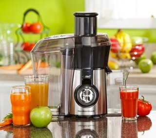 Hamilton Beach 67608 Big Mouth Juice Extractor, Stainless Steel from Hamilton Beach