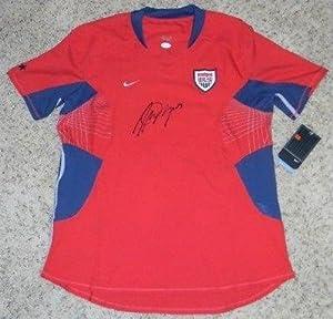 Signed Alex Morgan Jersey - Nike Red Usa - JSA Certified - Autographed Soccer Jerseys