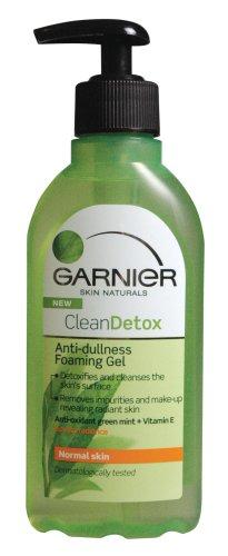 Garnier Clean Detox Anti-Dullness Foaming Gel  200 ml