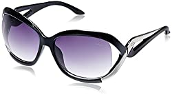GIO Collection Oversized Sunglasses (Black) (P12314)