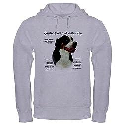 CafePress Greater Swiss Mountain Dog Hooded Sweatshirt by CafePress
