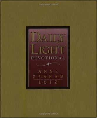Daily Light Devotional (Burgundy Leather) written by Anne Graham Lotz