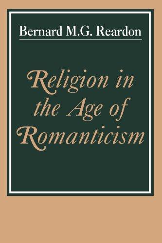 Religion à l'ère du romantisme : Studies in Early Nineteenth-Century Thought