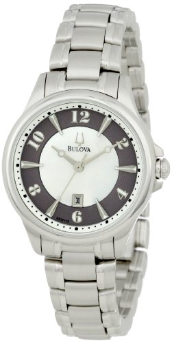 Bulova Women'S 96M113 Adventurer Mother Of Pearl Watch