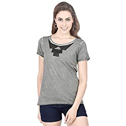 Alibi Women's Knit Top (ALKN000187A0M_Grey_M)
