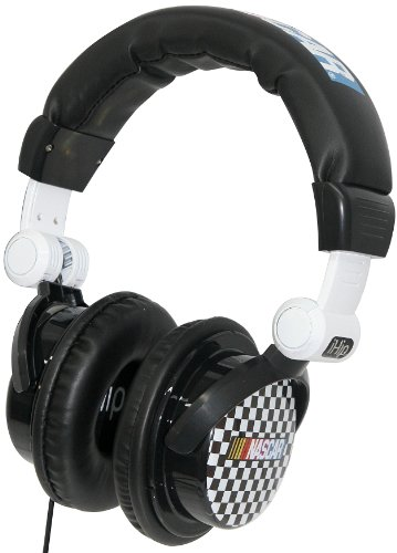 Ihip Rcf5000 Nascar Dj Style Headphones, Checkered