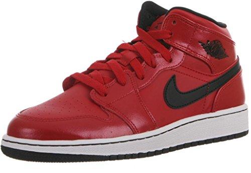 best website 1bf46 61ea9 AIR JORDAN 1 MID BG BOYS GRADE SCHL Sneakers 554725 602 6Y