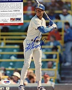 Ken Griffey Jr Signed 8x10 Photo Authentic U58712 Seattle Mariners Autograph - PSA... by Sports+Memorabilia