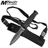 MTECH USA MT-493 Fixed Blade Knife 8.5-Inch Overall