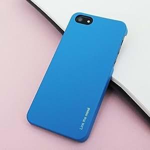 "FENICE SLIM POP Premium PC Back case for I Phone 5 / 5s Blue""Made In Korea"""