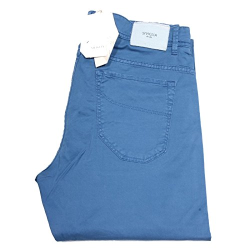 81797 pantaloni lunghi SIVIGLIA VINTAGE STRETCH jeans uomo trousers men [38]