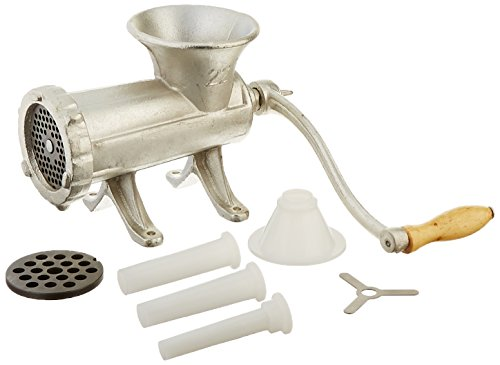 Weston #22 Manual Tinned Meat Grinder and Sausage Stuffer (Weston 22 Meat Grinder compare prices)