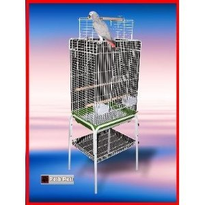 Cheap Zenda Stand Bird Cage Black Zenda Cages And Stand (830ac2)