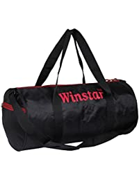 Winstar Coleman Black And Red Gym Bag With Adjsutable Shoulder Strap (Coleman-0103)