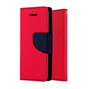 small candy Mercury Flip Cover For Micromax Unite 2 -Pink