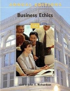 Business Ethics (Annual Editions: Business Ethics 11/12)